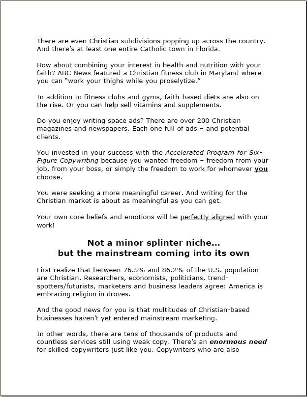 Portfolio Sample Sales Letter Awai Karen Zapp S Pk Scribe